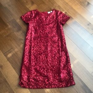 Sequin dress!